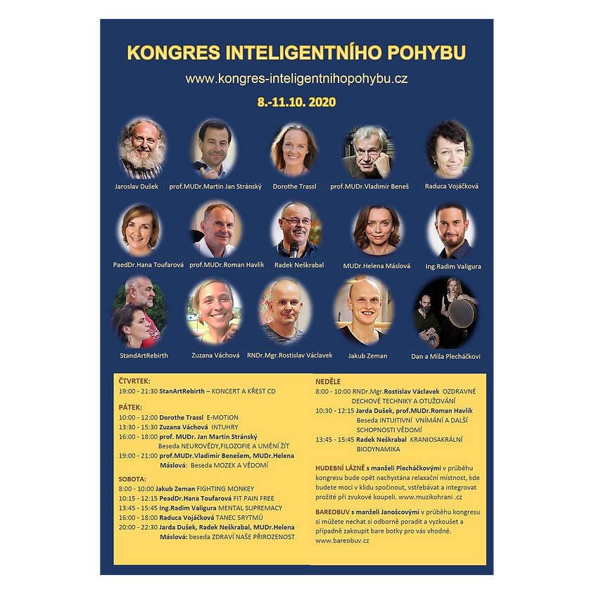 ONLINE KONGRES Podzim 2020 - PÁTEK