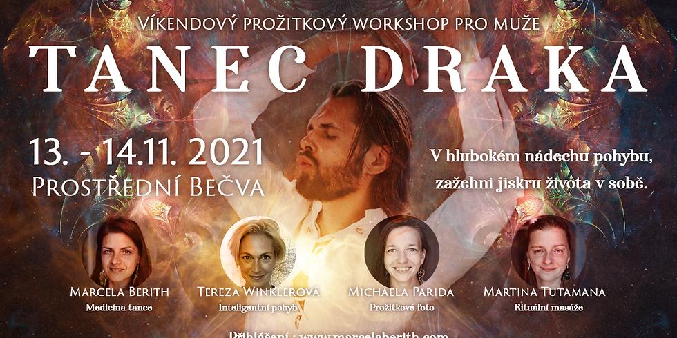 Tanec Draka - Víkendový prožitkový workshop pro muže