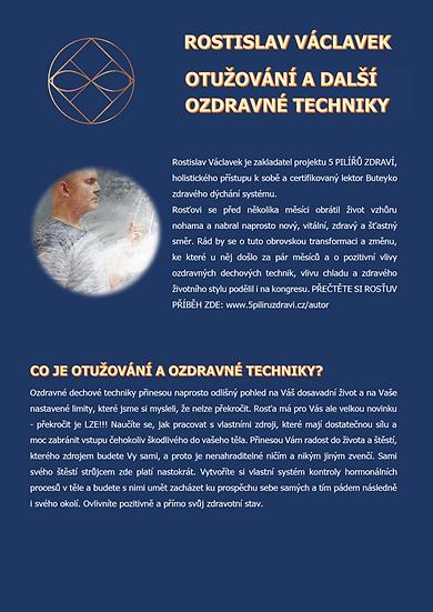 OTUŽOVÁNÍ A DALŠÍ OZDRAVNÉ TECHNIKY - Rostislav Václavek