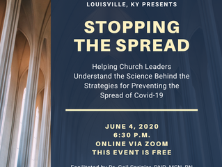 Stopping the Spread: A Training for Church Staff