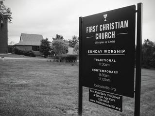 New Church Signage