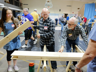 FCC Builds Beds for Louisville Children in Need