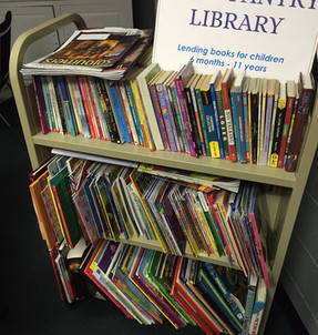 First Christian Member Creates Lending Library for Children