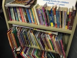 First Christian Member Creates Lending Library for Children