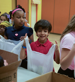 First Christian Helps Provide Students With Weekly Meals