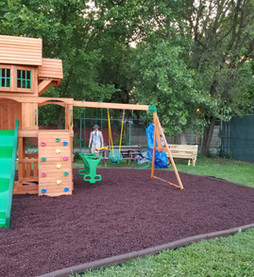 FCC Partners with Boy Scout to Build Playground for Homeless Shelter