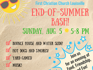 FCC Louisville End-of-Summer Bash!