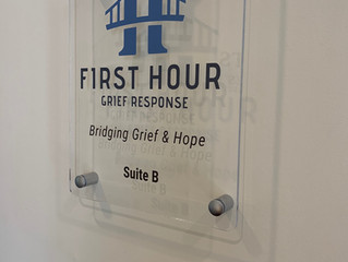 First Christian Church Supports Grief Response