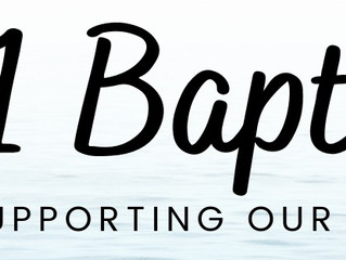Mark your calendar to support our Baptism Candidates
