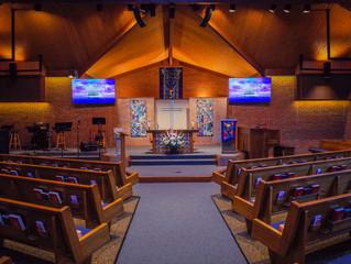First Christian Church Sanctuary Renovations