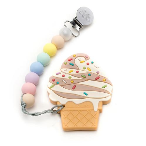 Ice Cream Silicone Teether Set