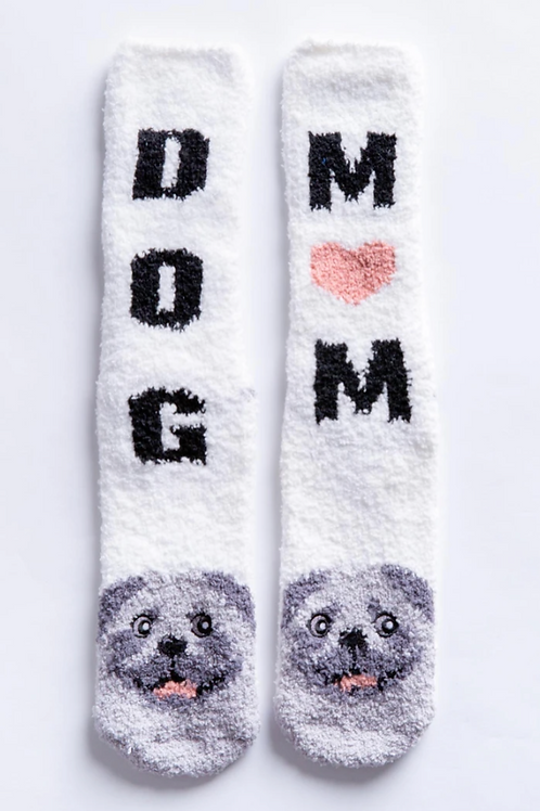 PJ Salvage Dog Mom Socks