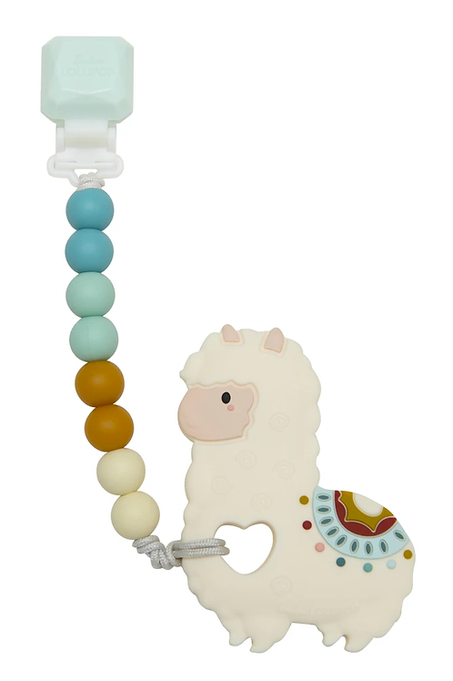 Llama Silicone Teether Gem Set