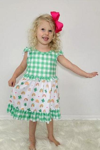 Lucky Charm Girls Dress