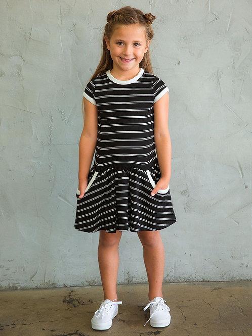 Striped Pocket Dress