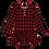 Thumbnail: Posh Peanut Grayson Long Sleeve Henley Twirl Skirt Bodysuit