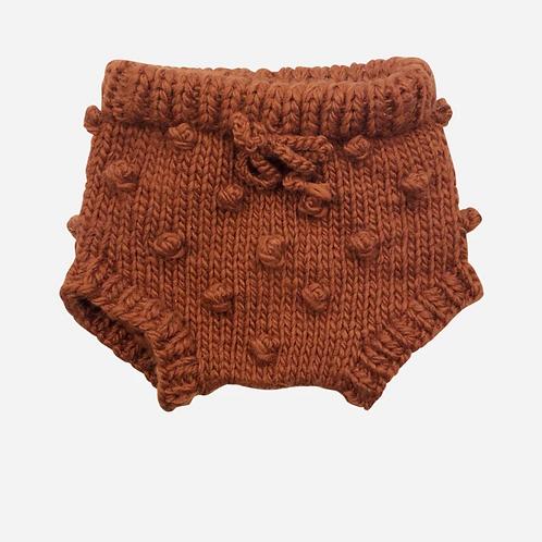 Cinnamon Knit Bloomers