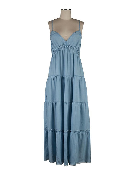 KUT Denim Cami Maxi Dress