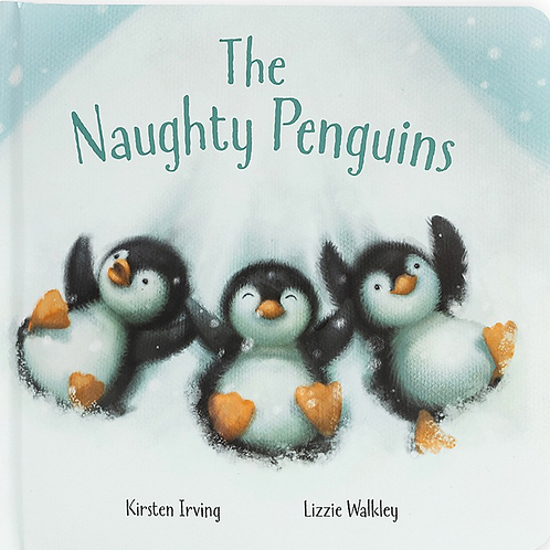 """Jelly Cat """"The Naught Penguins"""" Book"""