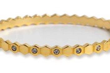Honeycomb Bangle
