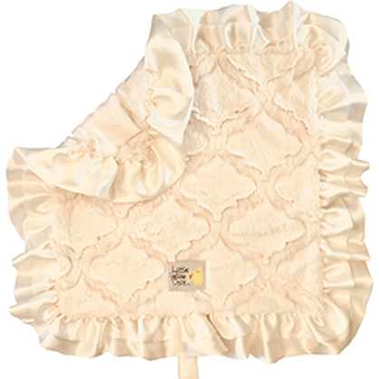 Little Yellow Chick Divine Blanket - Hands