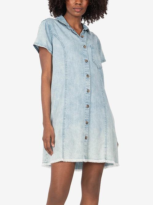 KUT Denim Shirt Dress