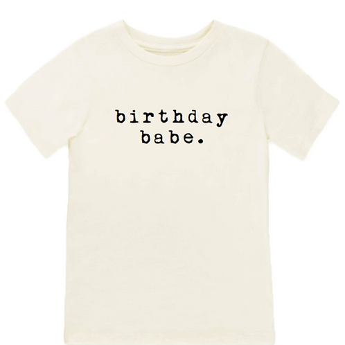 Birthday Babe Tee