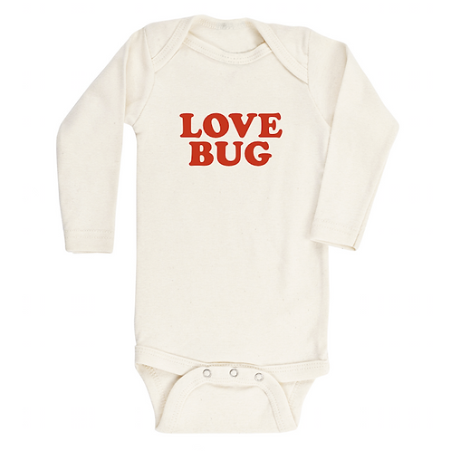Red Love Bug Long Sleeve Bodysuit