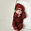Thumbnail: L'oved Baby Crimson Thermal Footie