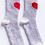 Thumbnail: PJ Salvage Heart Socks