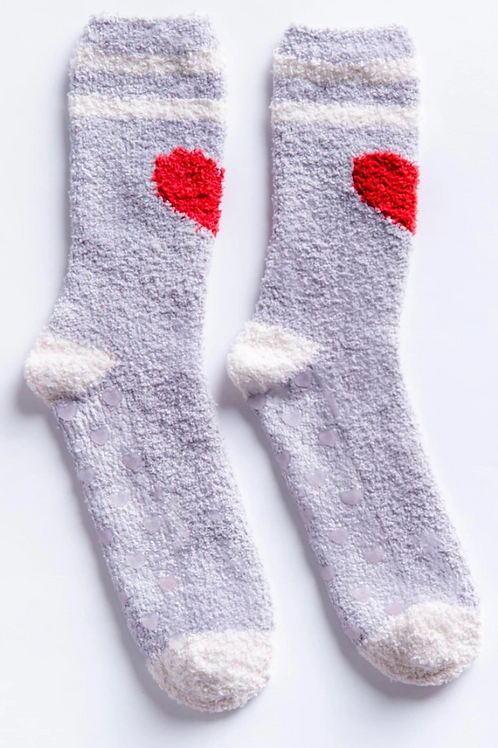 PJ Salvage Heart Socks