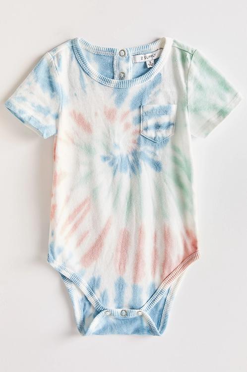 Z-Supply Multicolor Tie-Dye Onesie