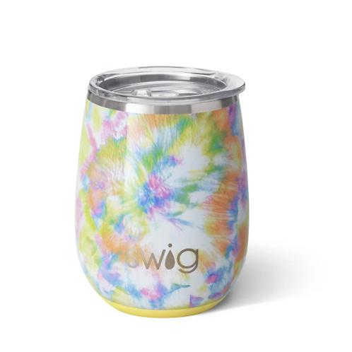 Swig You Glow Girl 14oz Wine Cup