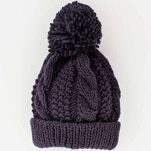 Indigo Knit Beanie