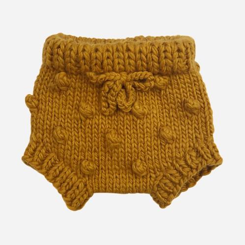 Mustard Knit Bloomers