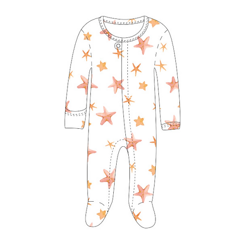 Loved Baby Starfish Footie