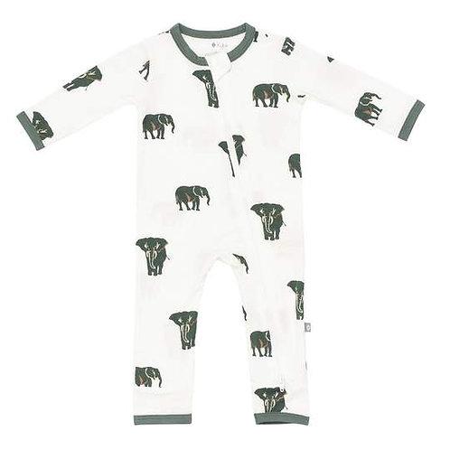 Kyte Baby Elephant Printed Romper
