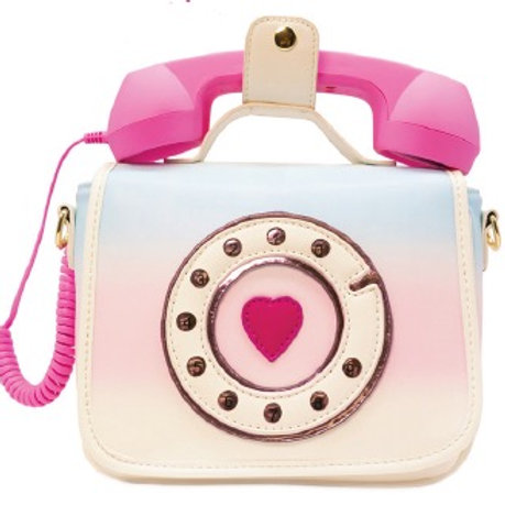 Ring Ring Phone Convertible Handbag Purse