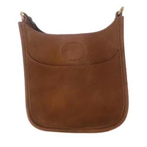 Petite Vegan Leather Messenger.. strap sold separately