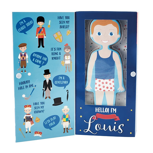 Louis Magnetic Dress Up Character