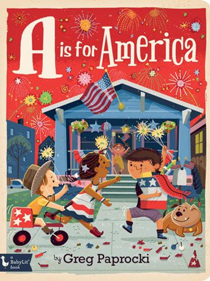 A Is for America Hardcover Book