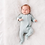 Thumbnail: Kyte Baby Zippered Footie in Sage
