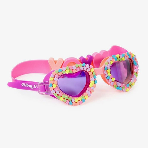 Be Mine Candy Heart Goggles