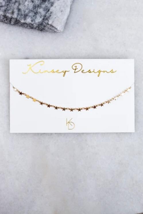 Kinsey Designs Tiny Star Choker Necklace
