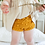 Thumbnail: Mustard Popcorn Knit Bloomers