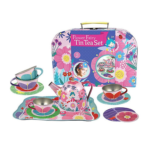 Flower Fairy Tin Tea Set