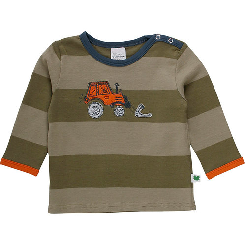 Embroidered Tractor Long Sleeve