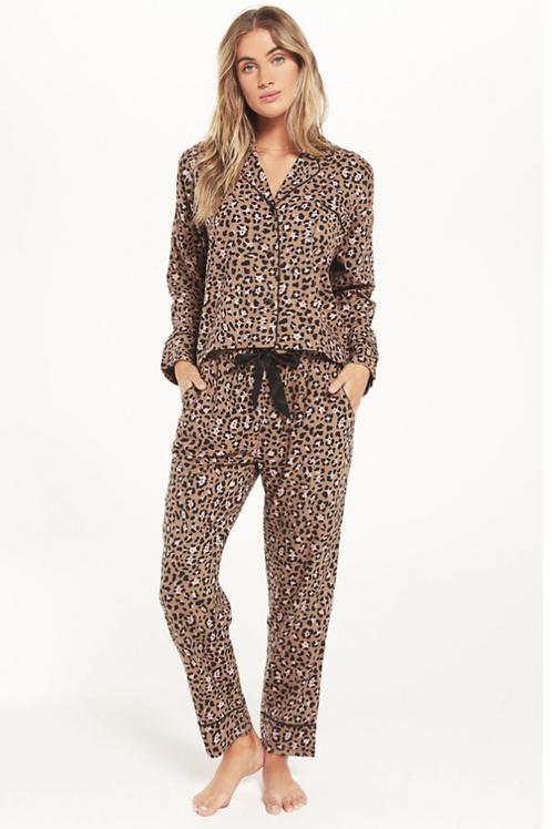 Z-Supply Leopard Pajama Set