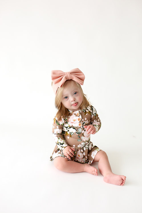 Posh Peanut Leona Twirl Bodysuit