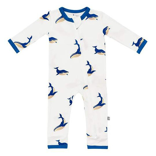 Kyte Baby Whale Printed Romper